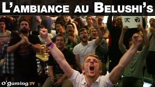 Ambiance au Base Camp des Worlds : le Belushi's au rythme du public !