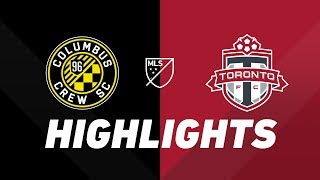 Columbus Crew SC vs. Toronto FC | HIGHLIGHTS - August 17, 2019 by Major League Soccer