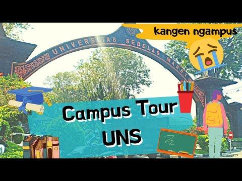 Campus Tour ! Keliling Kampus UNS (Universitas Sebelas Maret)   UNS Tuh Kayak Apa?   UNS Tour