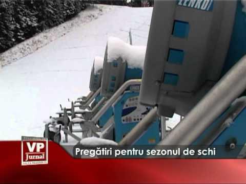 Pregătiri pentru sezonul de schi