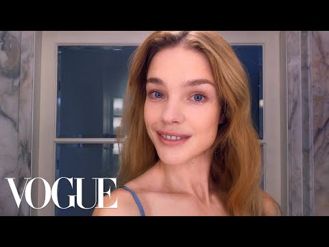 How Supermodel Natalia Vodianova Combats Jet-lagged Skin | Beauty Secrets | Vogue