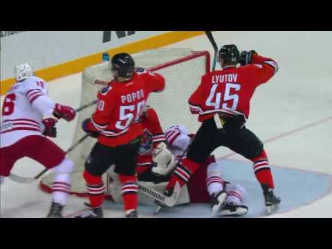 KHL Fight: Kolar VS Lauridsen (видео)