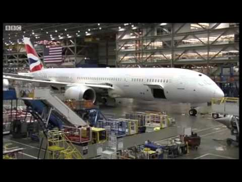 Видео сборки Boeing 787-9 Dreamliner за 2 минуты - Центр транспортных стратегий