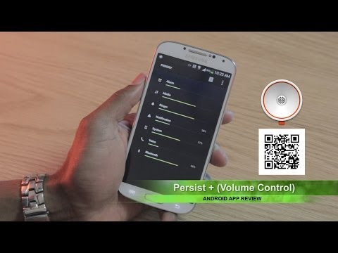 Video of Persist + Volume Control