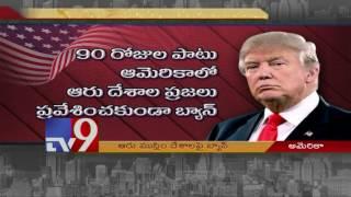 Trump travel ban - New order targeting six Muslim-majority countries signed - TV9