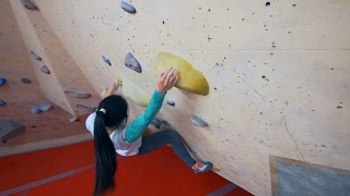 We Are Bouldering With Xiao Xian Goh by Eric Karlsson Bouldering