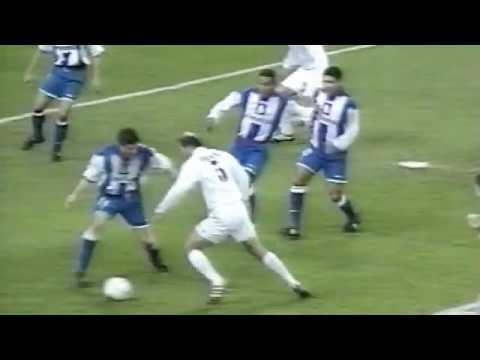 strepitoso goal di zidane al deportivo la coruna