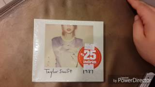 Taylor Swift 1989 Albümü Kutu Açılımı!/Taylor Swift 1989 Unboxing