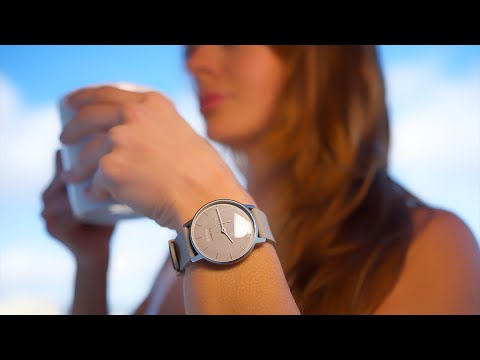 Don't just wear a watch. Track yourself with the Withings Activite pop watch