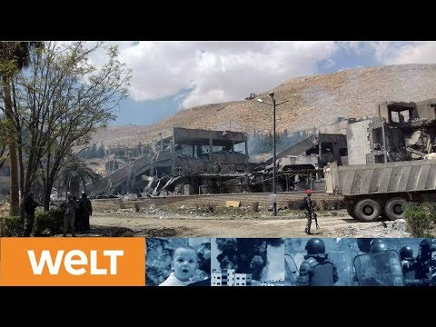 USA und Alilerte feiern Erfolg in Syrien: Russland  ...