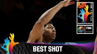 Watch Anthony Davis's nice alley-oop layup against Serbia. The 2014 FIBA Basketball World Cup will take place in Spain from 30 August - 14 September and will...