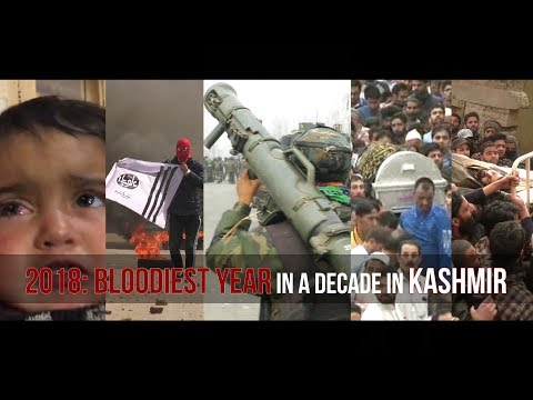 2018: Bloodiest year in a decade in Kashmir