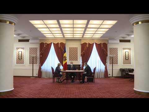 Șeful statului, președintele Parlamentului și prim-ministrul au participat la ședința săptămânală
