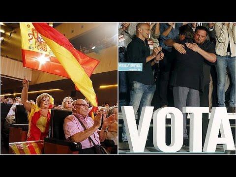 Στις κάλπες σήμερα οι Καταλανοί, με δίλημμα για την απόσχιση από την Ισπανία
