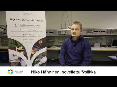 Itä-Suomen yliopisto - Sovellettu fysiikka