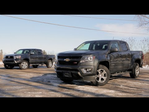 2015 Chevrolet Colorado vs 2015 Toyota Tacoma