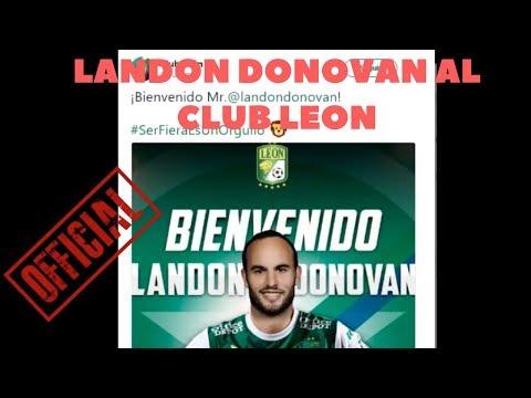 SIN C3NSURA OFICIAL Landon DONOVAN  es nuevo jugador del CLUB LEON DE MEXICO