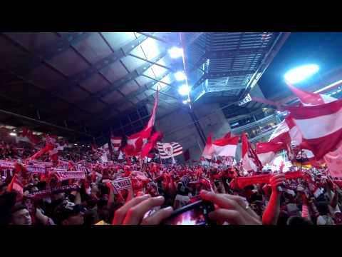 Olé Rot-Weiß!! Relegation 2013 pyro
