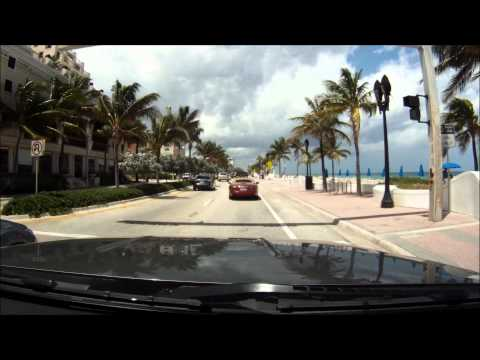 Drive along Ft. Lauderdale Beach