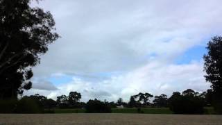 Sydney Storm Clouds Time Lapse