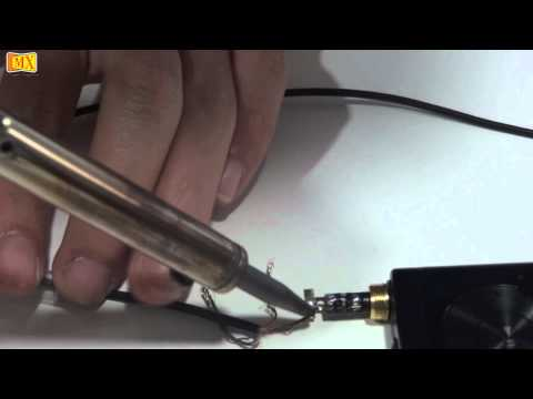 earphone - This video shows how to replace a earphone jack with mic (4 pole mini jack) This type of soldering can be quite tedious because of the mini jack's small size...