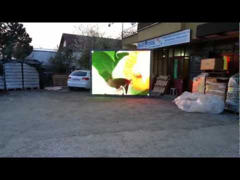 P16 RGB Full Color Led Ekran Uygulamamız Kırıkhan Hatay