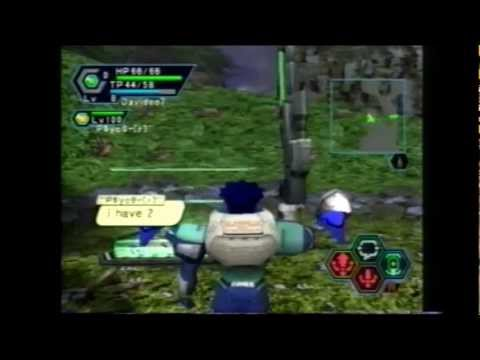 Phantasy Star Online Dreamcast