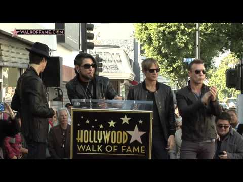 Jane's Addiction Walk of Fame Ceremony