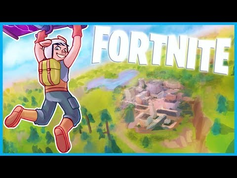 *NEW* TOWNS and MAP LOCATIONS in Fortnite: Battle Royale! (Fortnite LIVE w/ I AM WILDCAT & Friends!) (видео)