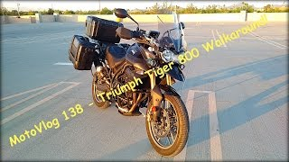 1. MotoVlog 138 - Tiger 800 Accessory Walk Around - Triumph Tiger 800