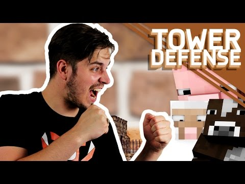 MEGA DIEREN VERDEDIGING!! - Minecraft Tower Defense #30