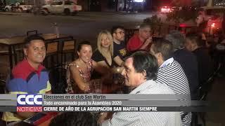 Elecciones en el club San Martín