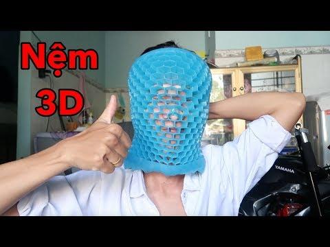Lâm Vlog - Lần Đầu Dùng Thử Nệm Ngồi 3D Thoáng Khí Của Nước Ngoài - Thời lượng: 8 phút, 27 giây.