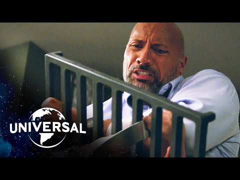 Skyscraper | Every Fight Scene with Dwayne Johnson