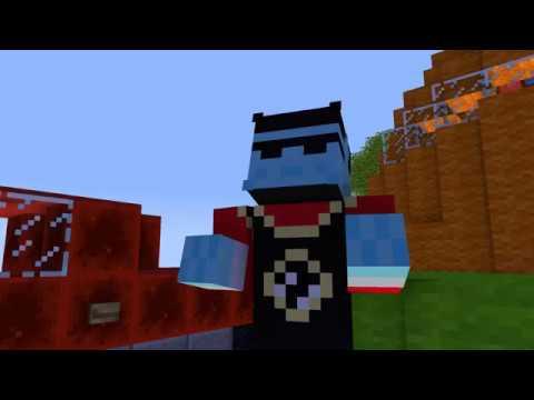 Dragon ball HUN   Minecraft animation Elzetes
