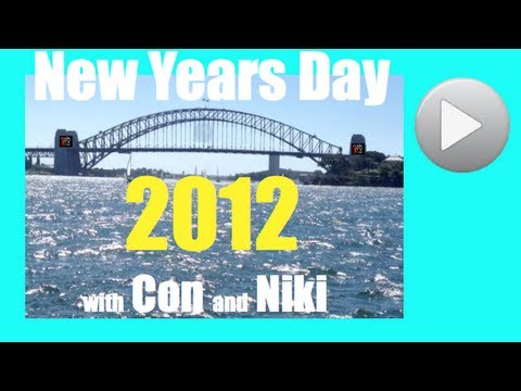 MORNING AFTER New Years Eve Sydney Fireworks Fort Denison Sydney Harbour 2012 ConikiTV