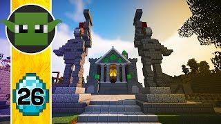 Transform a Minecraft Village into a Town E26 - The Inn?
