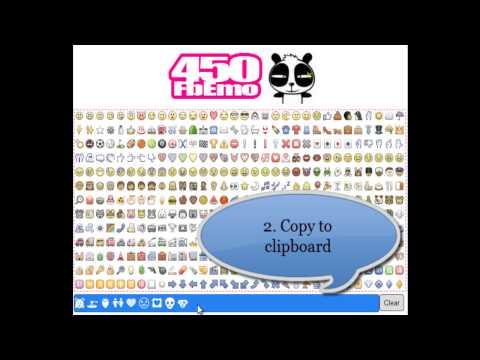 Video of ★☆ 450 Facebook Emoticons ☆★
