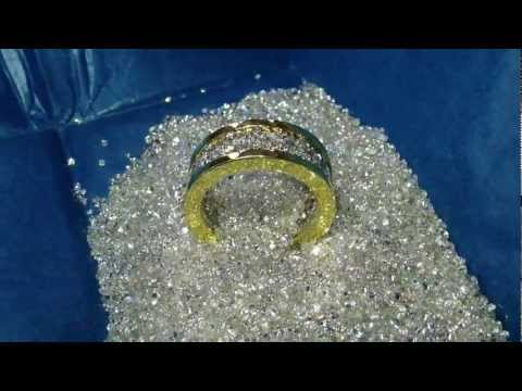 Mountain of diamonds and custom diamond ring by TraxNYC