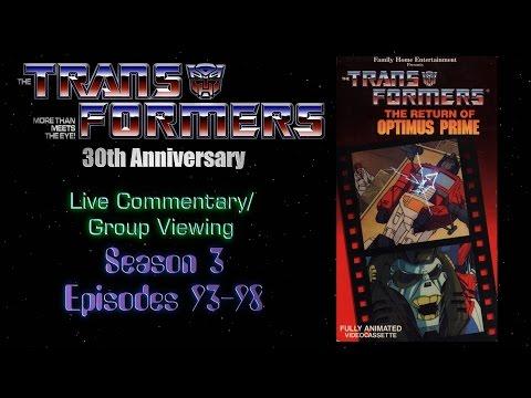 Watching Transformers G1 - Episodes 93-98!