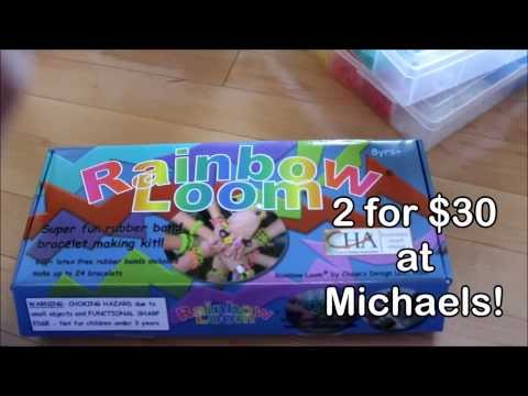 Rainbow Loom Review + How to Organize Rubber Bands