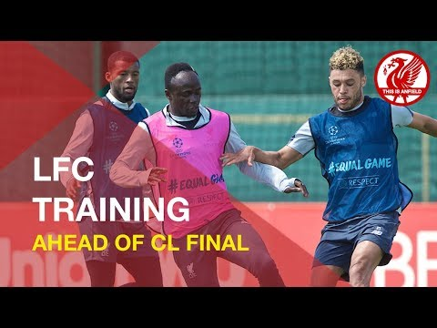 Liverpool FC Training Ahead Of Champions League Final