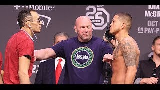 UFC 229 Ceremonial Weigh-In: Tony Ferguson vs Anthony Pettis