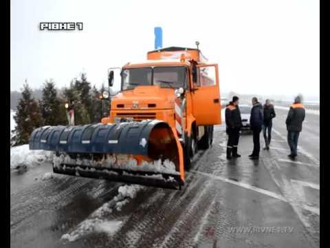 На Рівненщині зима розпочалась за календарем зі снігом та буревієм [ВІДЕО]