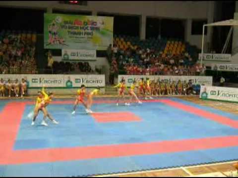 Team Age Group 1 _  2 place _ HoChiMinh Schools Aerobic Championships  2009 Viet Nam