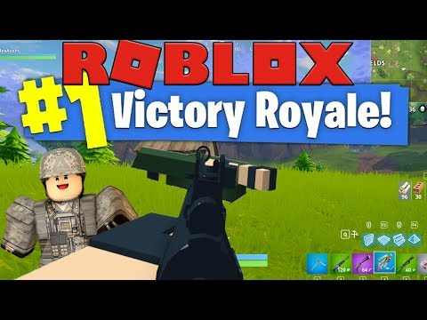 WE ARE UNBEATABLE IN THIS GAME - FORTNITE IN ROBLOX