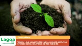 TERMINA HOJE AS INSCRIÇÕES PARA OS CURSOS GRATUITOS OFERECIDOS PELO MINISTÉRIO DO MEIO AMBIENTE.
