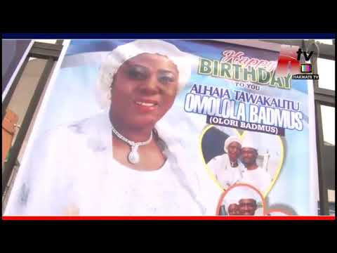 ALHAJA OMOLOLA BADMUS CELEBRATE HER 40TH BIRTHDAY WITH SPECIAL GIFT FROM HER HUBBY