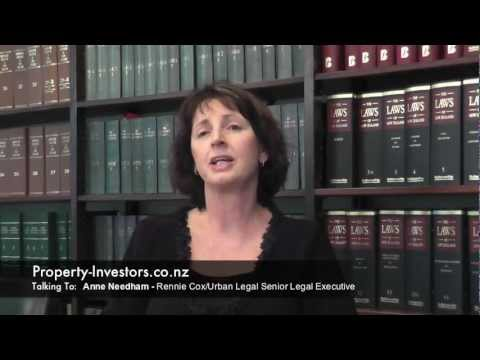 NZ Property Pre Purchase Due Diligence By Anne Needham Rennie Cox Urban Legal