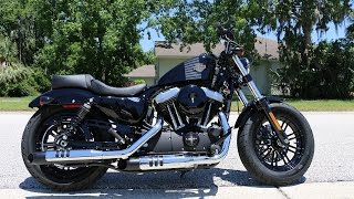 5. My 2017 Harley Davidson Sportster Forty Eight is Here!!